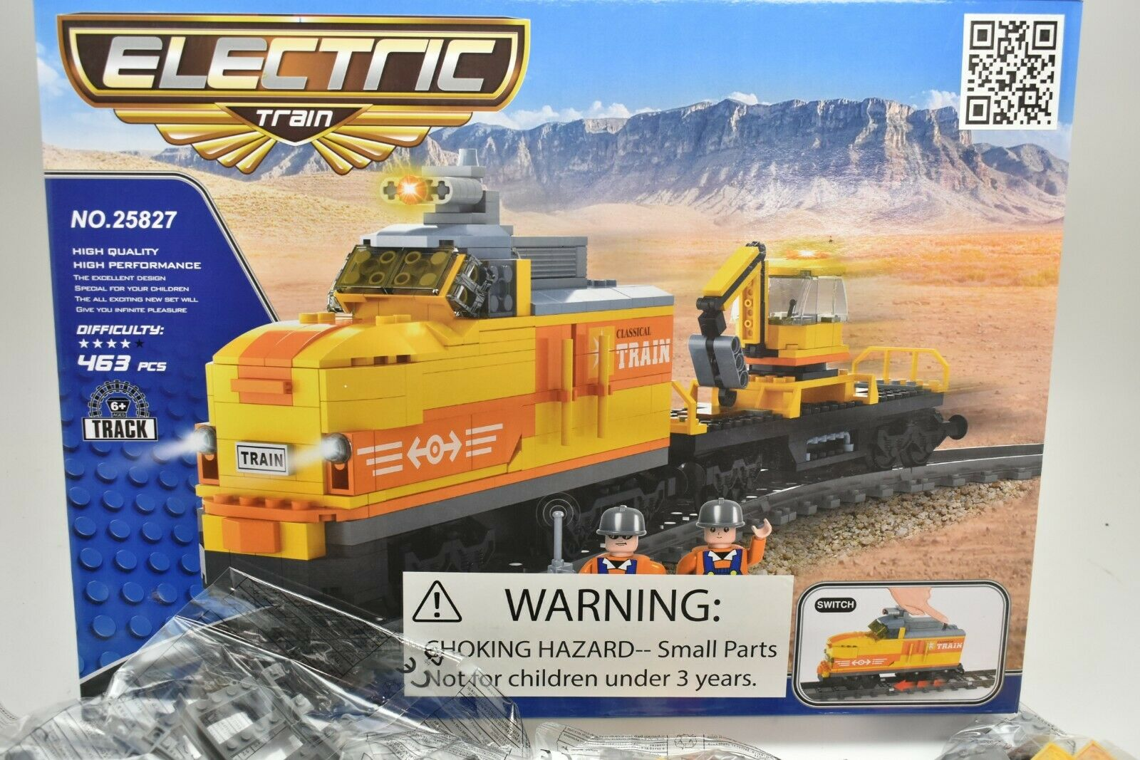AUS25827 Imex   Ausini Eléctrico Conjunto Tren 463 Piezas Diesel Interruptor con