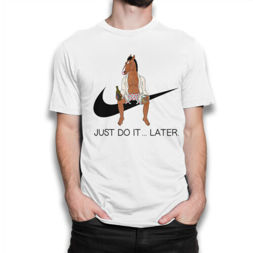 BoJack Horseman /'Just Do It Later/' T-Shirt Funny Tee All Sizes