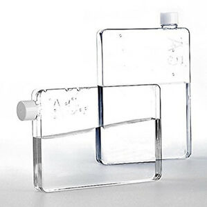 Slim Water Bottle genuine a5 memo water bottle clear tritan 750ml durable slim posh