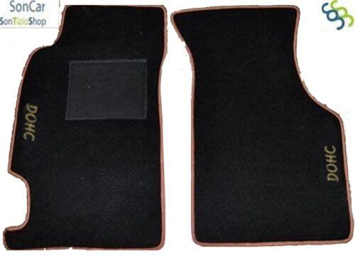 2 loghi HONDA CRX CR X TAPPETI-tappetini AUTO 4 block
