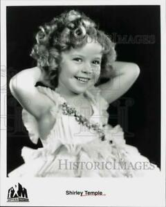 Press Photo Child Actress Shirley Temple - srp04612