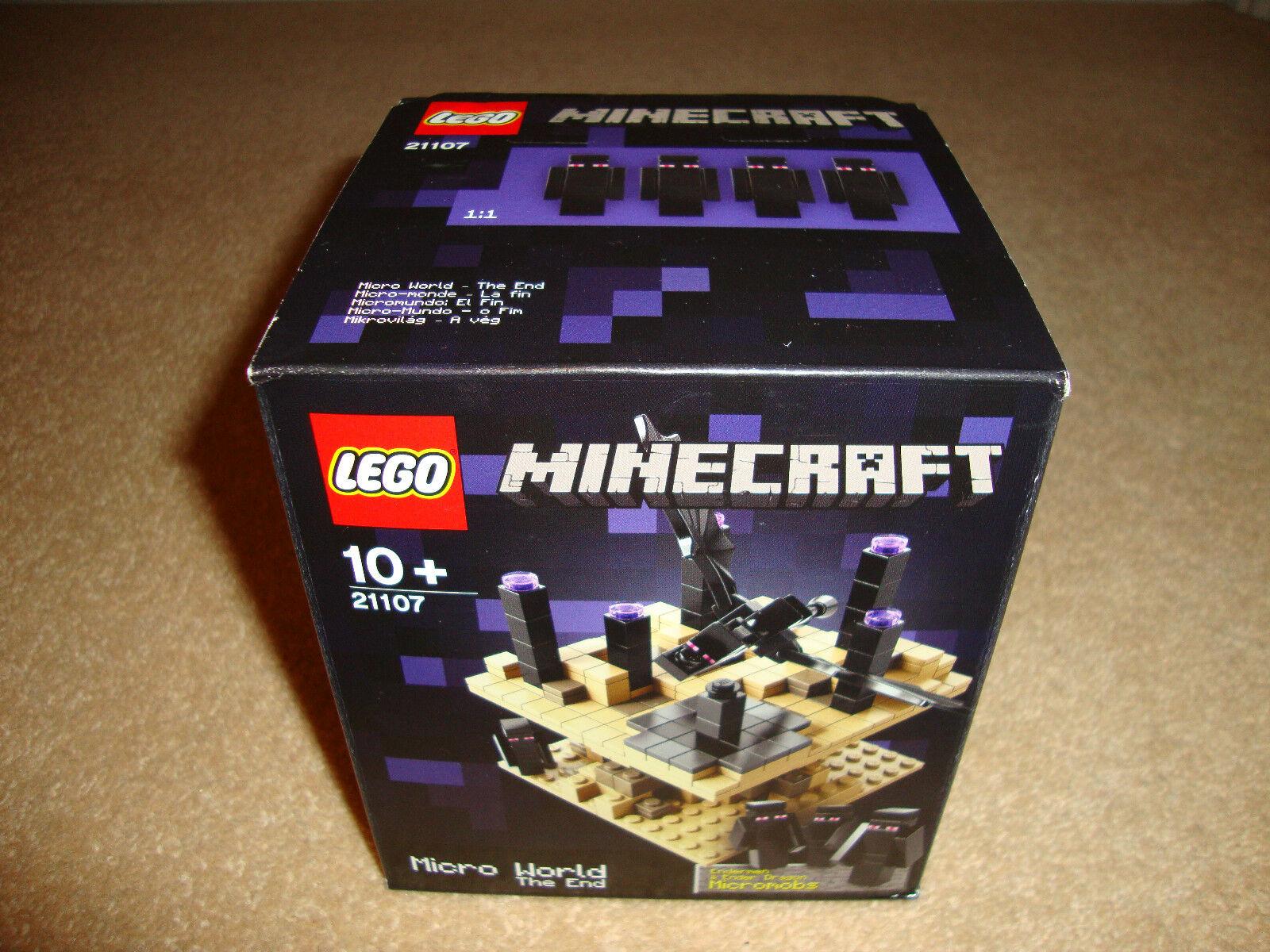 NEW-Lego Minecraft 21107-La Fine-Nuovo con Scatola + Gratis P&P