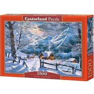 Castorland C-151905-2 - Snowy Morning, Puzzle 1500 Teile - Neu