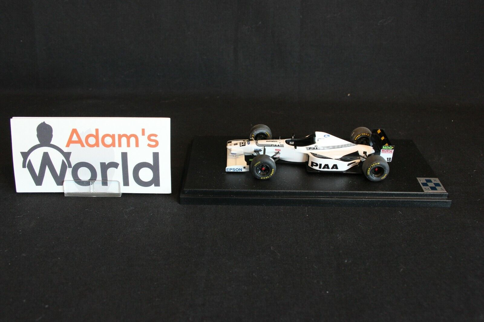 Tameo Tyrrell Ford 025 1997 1 43  18 Jos Verstappen (NED) (KL)