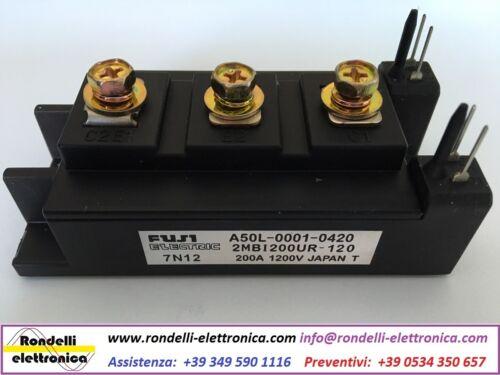 FUJI ELECTRIC TYPE 2MBI200UR-120 2MBI200UR120 FANUC A50L-0001-0420
