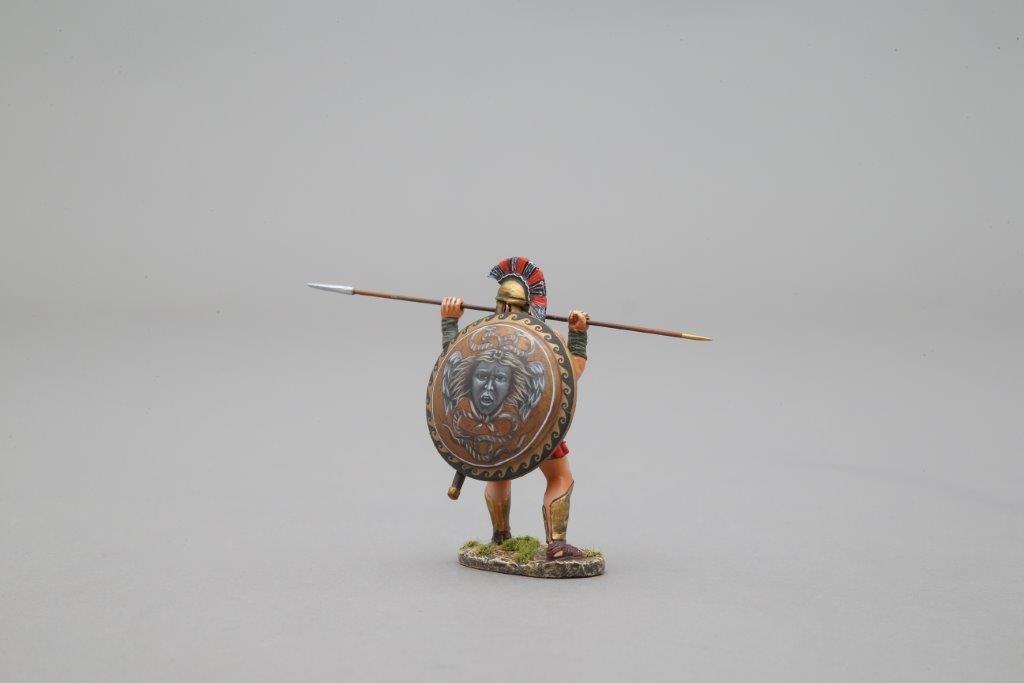 THOMAS GUNN SPA010J - Spartan warrior Thrust with Spear - Medusa