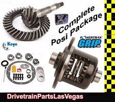"Richmond Powertrax  Posi Pkg GM Chevrolet 8.5"" 8.6"" 30 Spline 3.73 Gears & Kit"