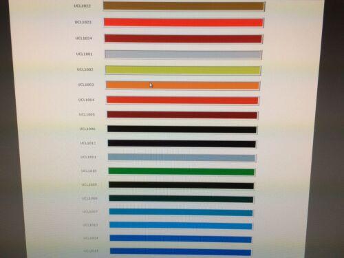 On Glaze Ceramic Colour Unleaded Range NEW