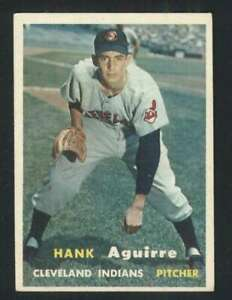 1957-Topps-96-Hank-Aguirre-NM-NM-RC-Rookie-Indians-80525