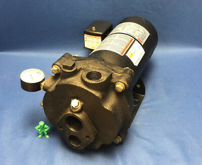 1 NPT Outlet 18//9 Amps 3//4 HP Convertible Jet Pump System 1 1//4 NPT Inlet