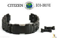 Citizen Eco-drive Bl8097-52e 22mm Black / Gray Tone Stainless Steel Watch Band