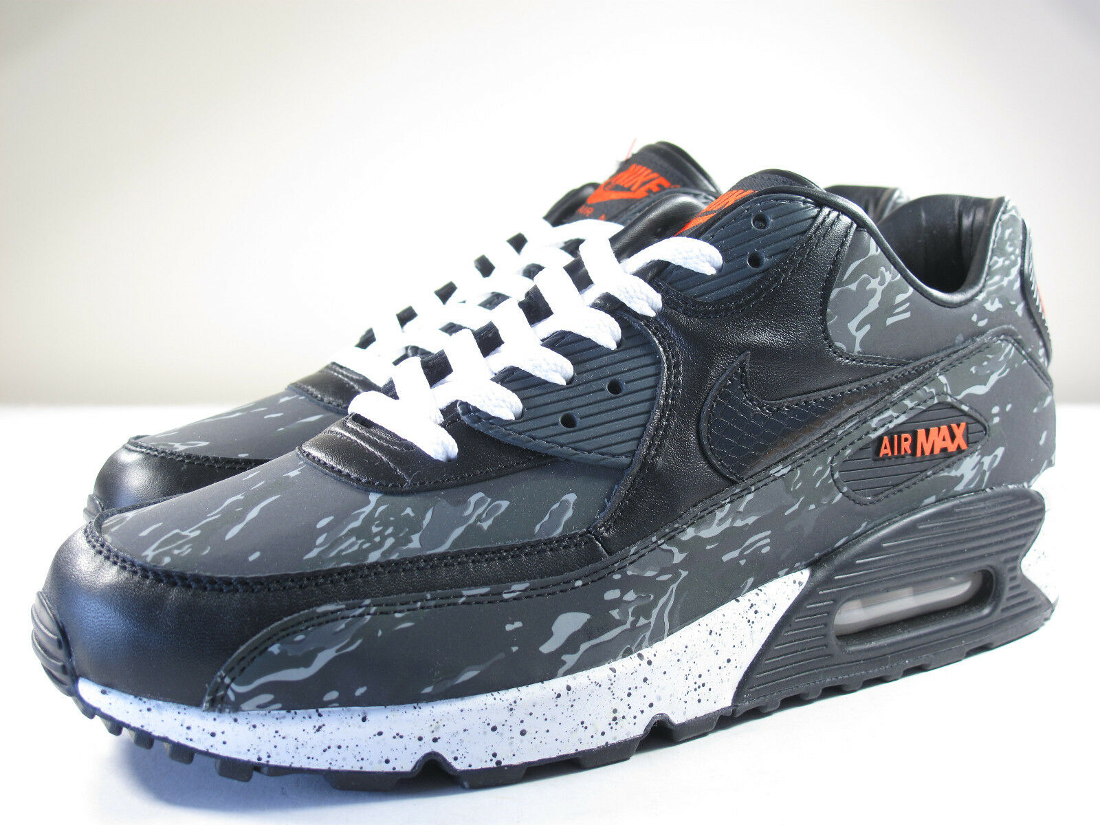 DS NIKE 2013 AIR MAX 90 ATMOS TIGER CAMO DARK CHARCOAL 12 FLYKNIT 1 DUCK  95 180