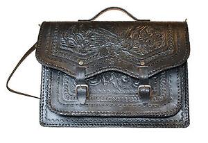 Hand-tooled purse from Ensenada Mexico