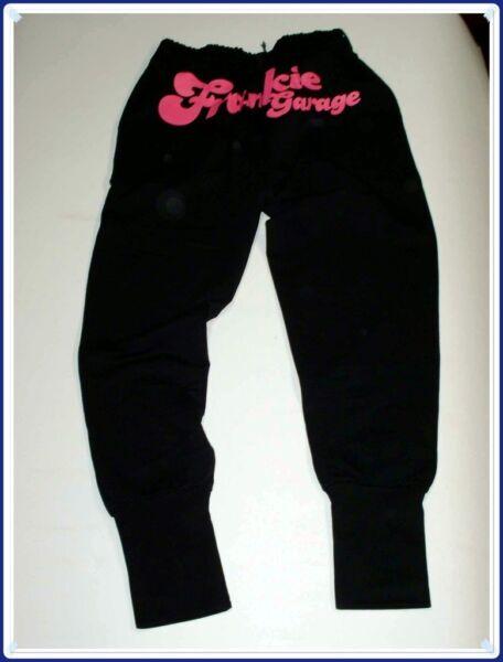 100% Vero Frankie Garage Training Pantaloni Donna Sportivi Cotone Tess Leggero