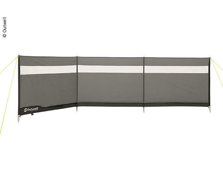 Outwell frangivento Da Campeggio prossoezione visiva GIARDINO SPIAGGIA 500x125cm di Reimo
