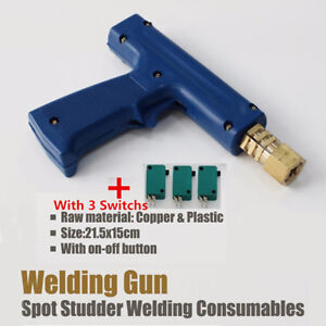 Business & Industrial Spot Welding Gun Soldering Torch For Car Dent Repair Welder W/ Triggers Standard