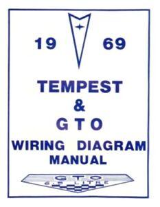 Pontiac 1969 Tempest Gto Wiring Diagram 69 Ebay