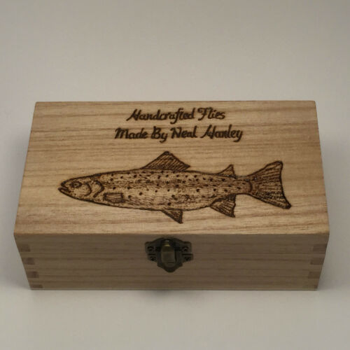 Fly Fishing Box Personalised gifts