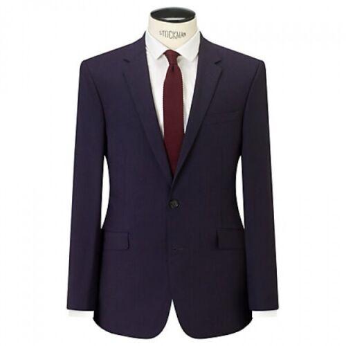 "Zorn Aubergine JOHN LEWIS BNWT Sizes 36/"" 38/"" 40/"" 44/"" Reg Slim Suit Jacket"