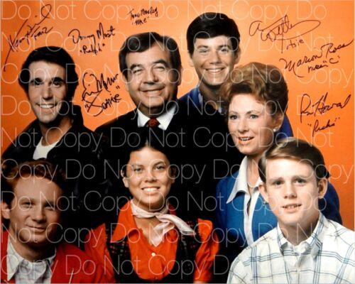 Happy Days signed cast 8X10 photo picture poster autograph RP