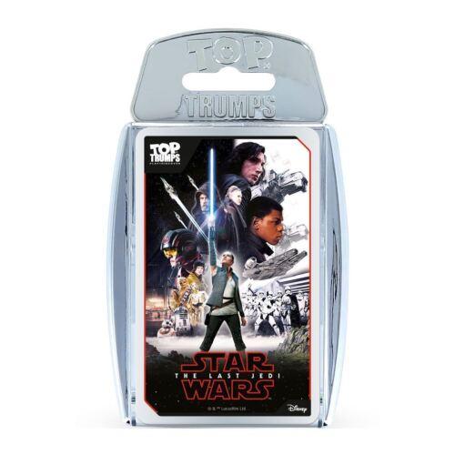 Star Wars Episode 8 The Last Jedi Top Trumps Card Game