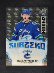 2018-19-18-19-UD-Upper-Deck-Ice-Sub-Zero-Rookies-SZ-21-Elias-Pettersson-999