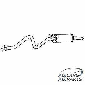 OEM QUALITY  BOX WITH TAIL PIPE FOR LAND ROVER GLR176