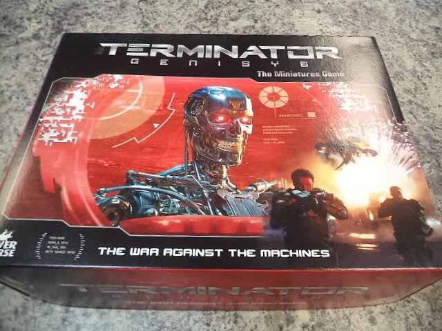 Base De Juego Terminator Genisys la miniatura Core Río Juegos De Caballo  nuevo  Genesis