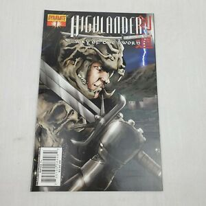 Highlander-Way-Of-The-Sword-1-Dynamite-First-Print-Comic-Book