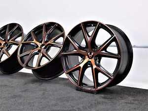 SEAT Leon Cupra R 300 FR 19 pollici COPPER ORIGINALE CERCHI IN LEGA CERCHIONI 5f0071499e