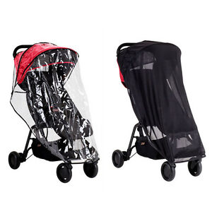 Mountain Buggy Nano All Weather Cover Set Includes Rain Cover Sun