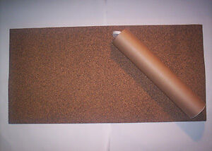 Large Cork Sheet Gasket Material 500x1000x4.5mm Thick