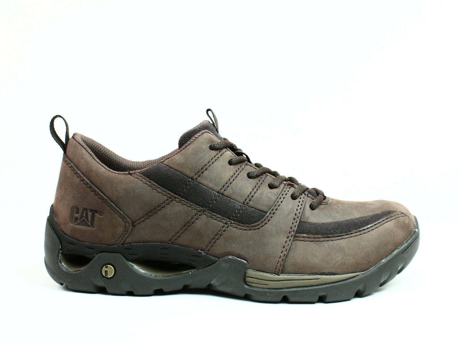 Scarpe casual da uomo Caterpillar CRITERION uomos Work Brown Casual Brown Work Leather/Nubuck Shoes Sneakers 4f936a