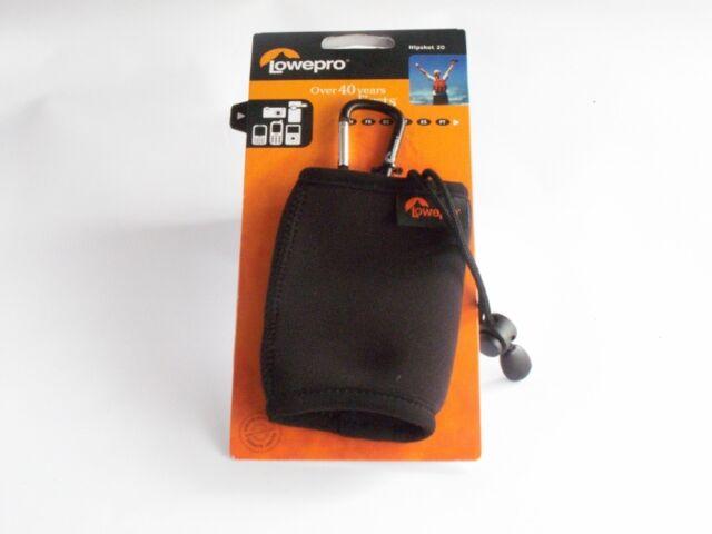 Lowepro Hipshot 20 Camera Case with Clip: Black. Suits Phone, Camera etc