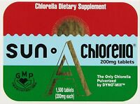 Sun Chlorella Usa Sun Chlorella Econ 1500 Tabs 200mg