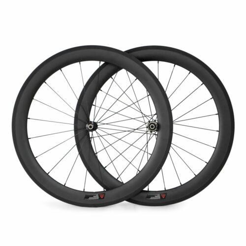 25mm Width 50mm Clincher Straight Pull Carbon Wheels Road Bike Cycling Wheelset