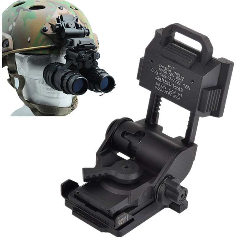 Hunting Helmet parts L4G24 NVG Alloy Metal  Helmet Mount CNC for PVS15 PVS18 GPN  the lowest price