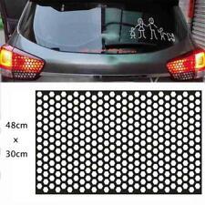 Car Rear Tail Light Diy Sticker 48x30cm Honeycomb Decal Pvc Scratch Resistant Fits 2002 Mitsubishi Eclipse