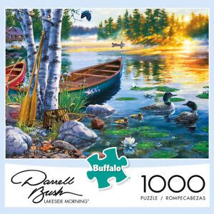 Buffalo-Games-Puzzle-Lakeside-Morning-Darrell-Bush-1000-Pieces-11244