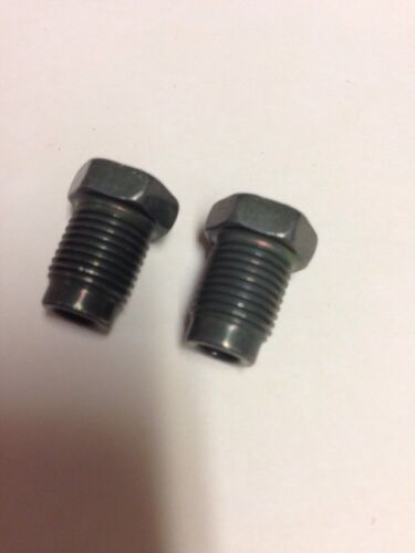 "Olive 3//16/"" x 10mm-1.0 Europe//Domestic Fittings-2 Pcs brake,fuel,transmission"