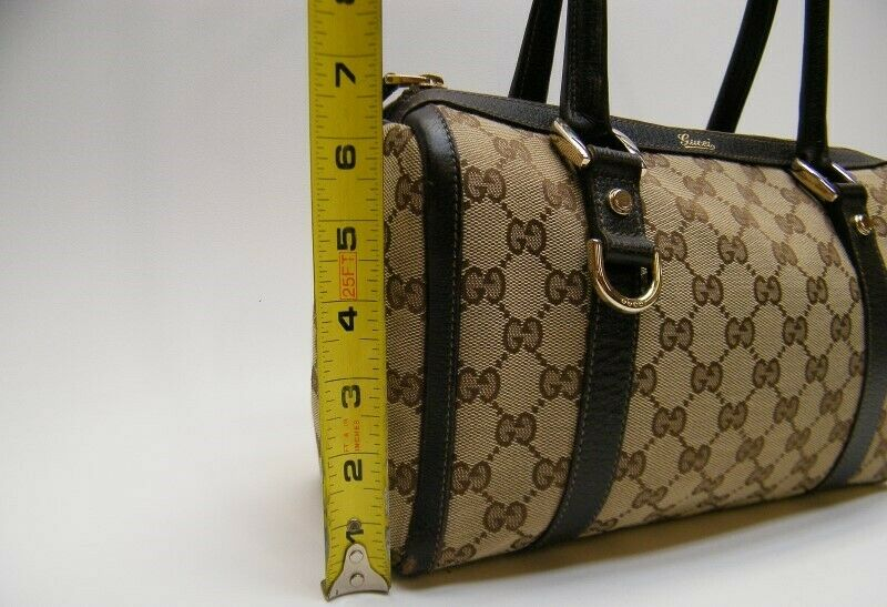 GUCCI GG MONOGRAM brown mini DOCTOR BOSTON HAND B… - image 3