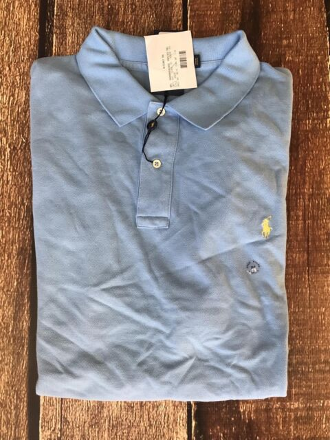 f594fd407 Polo Ralph Lauren Big Tall Mesh Polo Chat Blue Mens LT for sale ...