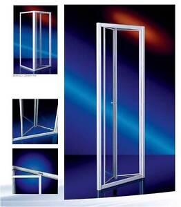 Duschabtrennung duschkabine acrylglas plexiglas faltwand nische dusche h 185cm ebay - Faltwand dusche ...