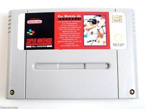 Cal-ripken-Jr-baseball-module-super-Nintendo-snes-jeu