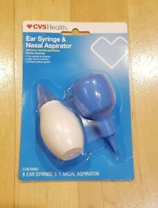 Details about CVS Children's Ear Syringe & Nasal Aspirator - Fast shipping