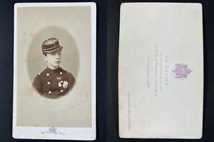Le Jeune, Paris, Prince Louis-Napoléon Bonaparte Vintage cdv albumen print T