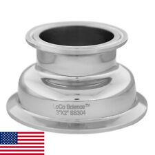 3 X 2 Tri Clamp Hemispherical Bowl Reducer Ss304 Loco Science