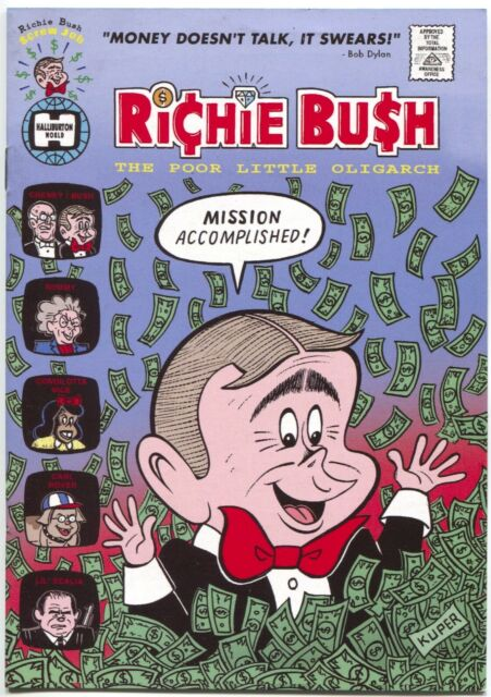 Richie Bush The Poor Little Oligarch Ragged Edge Press 2004 VG FN