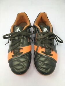 Adidas-Garcons-Chaussures-De-Football-Marron-Orange-Nitrocharge-3-0-Taille-UK4