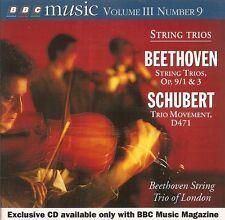 BBC Music - Vol.3 No.9 / Beethoven - String Trios · Schubert - Trio Movement